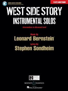 West Side Story Instrumental Solos - Flute/piano With Cd