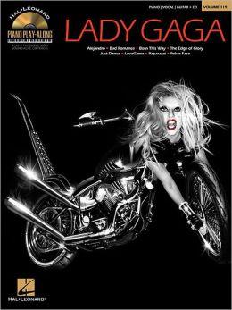 Lady Gaga: Piano Play-Along Volume 119