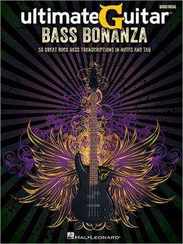 Ultimate-Guitar Bass Bonanza Hal Leonard Corp.