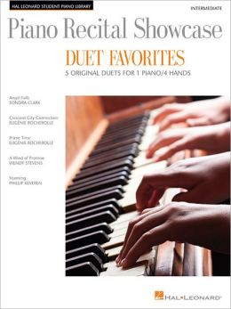 Piano Recital Showcase - Duet Favorites: 5 Original Duets For 1 Piano/4 Hands