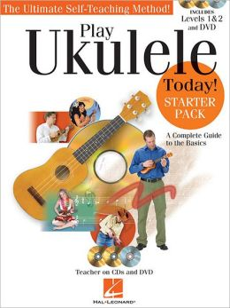 Play Ukulele Today! Starter Pack with Level 1, Level 2 & DVD (Book/2-CD/DVD)