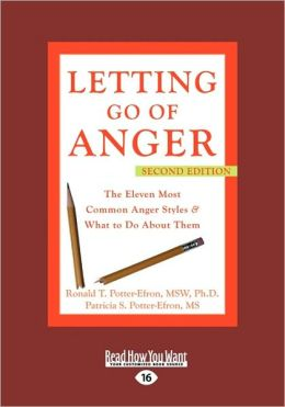 Letting Go Of Anger (Easyread Large Edition)