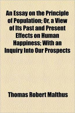 Thomas Malthus Essay On Population