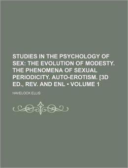Studies In The Psychology Of Sex (V. 1)