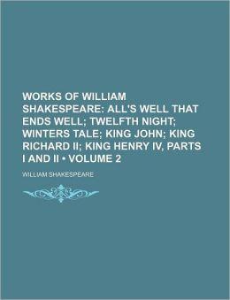 Works Of William Shakespeare