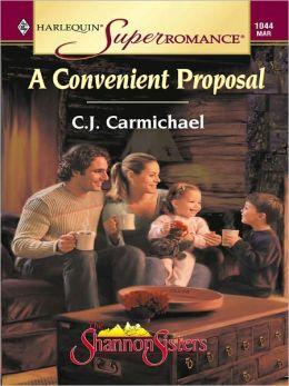 A Convenient Proposal