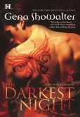 Book Cover Image. Title: The Darkest Night (Lords of the Underworld Series #1), Author: Gena Showalter