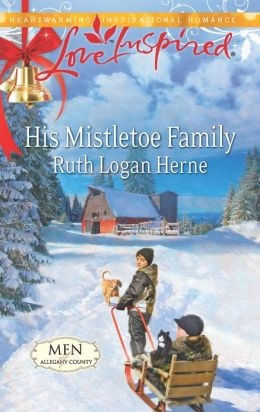 His Mistletoe Family (Love Inspired Series)