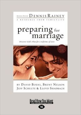 Preparing for Marriage (Large Print 16pt)