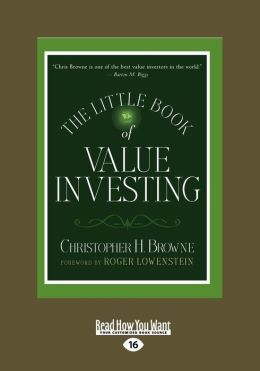 The Little Book Of Value Investing (Large Print 16pt)