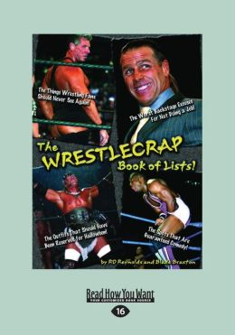 The WrestleCrap Book of Lists! (Large Print 16pt)
