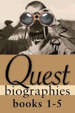Quest Biographies Bundle -- Books 1-5: Emma Albani / Emily Carr / George Grant / Jacques Plante / John Diefenbaker