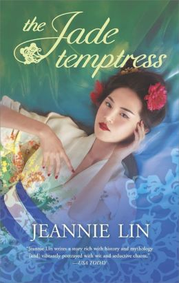 THe cover of Lin's The Jade Temptress