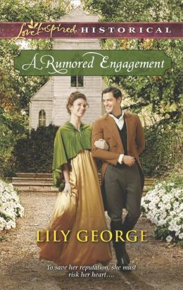 A Rumored Engagement (Love Inspired Historical Series)