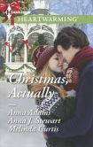 Book Cover Image. Title: Christmas, Actually:  The Christmas Gift\The Christmas Wish\The Christmas Date, Author: Anna Adams