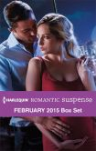 Book Cover Image. Title: Harlequin Romantic Suspense February 2015 Box Set:  Carrying His Secret\Operation Power Play\Silken Threats\Taken by the Con, Author: Marie Ferrarella