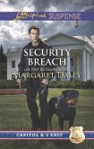 Book Cover Image. Title: Security Breach (Love Inspired Suspense Series), Author: Margaret Daley