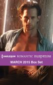 Book Cover Image. Title: Harlequin Romantic Suspense March 2015 Box Set:  A Real Cowboy\The Marine's Temptation\The Rancher's Return\The Bounty Hunter's Forbidden Desire, Author: Carla Cassidy