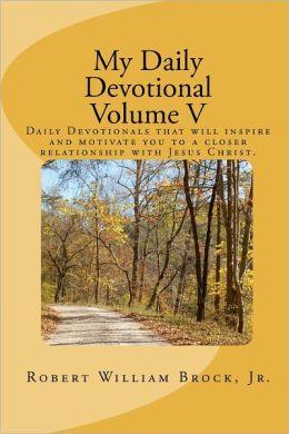 My Daily Devotional Volume V