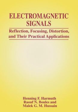 Electromagnetic Signals: Reflection, Focusing, Distortion, and Their Practical Applications