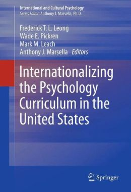 Internationalizing the Psychology Curriculum in the United States