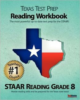 Texas Test Prep Reading Workbook, STAAR Reading Grade 8