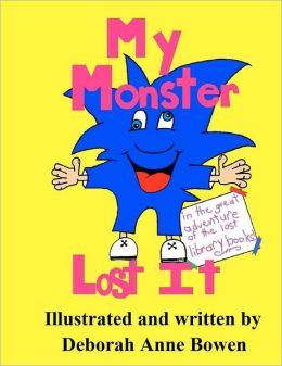 My Monster Lost It: The Great Adventure of the Lost Library Books