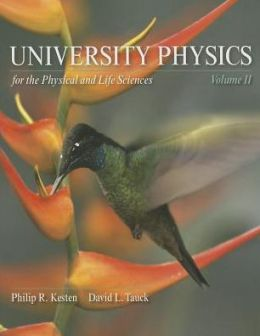 University Physics for the Physical and Life Sciences Volume 2 & Sapling Learning 6 Month Access