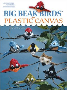 Big beak Birds in Plastic Canvas