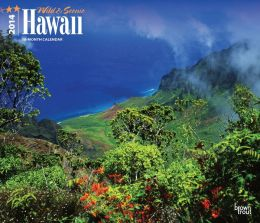 2014 Hawaii, Wild & Scenic Deluxe Wall Calendar