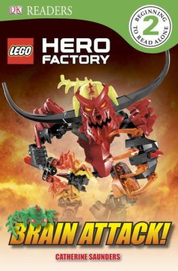 DK Readers: LEGO Hero Factory: Brain Attack!