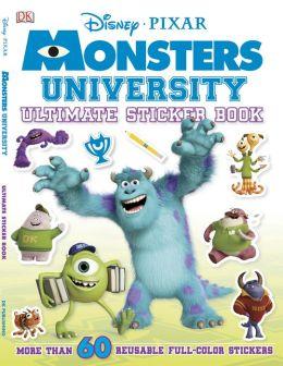 Ultimate Sticker Book: Monsters University