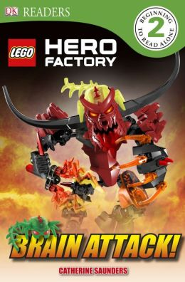 DK Readers L2: LEGO Hero Factory: Brain Attack!