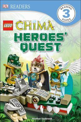 DK Readers L3: LEGO Legends of Chima: Heroes' Quest