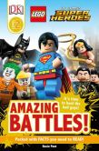 Book Cover Image. Title: DK Readers L2:  LEGO DC Comics Super Heroes: Amazing Battles!, Author: DK Publishing