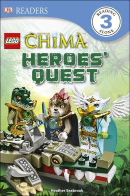 DK Readers L3: LEGO Legends of Chima: Heroes' Quest