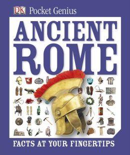 Pocket Genius: Ancient Rome (PagePerfect NOOK Book)