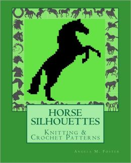 HORSE SILHOUETTES Knitting and Crochet Patterns