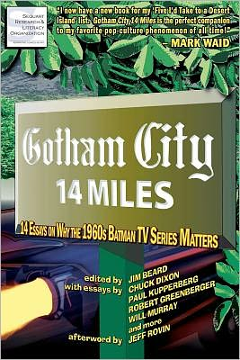 Gotham City 14 Miles Cover