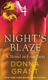 Book Cover Image. Title: Night's Blaze:  Part 4, Author: Donna Grant