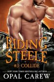 Book Cover Image. Title: Riding Steele #3:  Collide, Author: Opal Carew