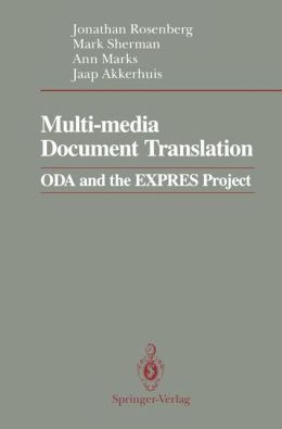 Multi-media Document Translation: ODA and the EXPRES Project