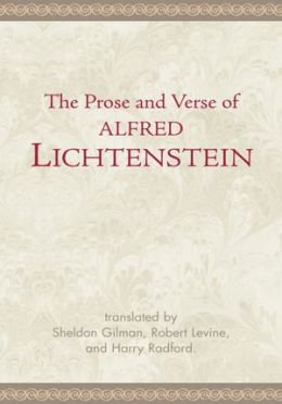 The Prose and Verse of Alfred Lichtenstein