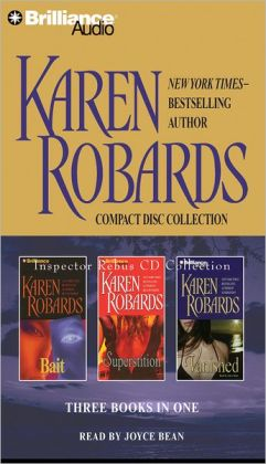 Karen Robards CD Collection: Bait, Superstition, Vanished