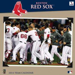 2014 Boston Red Sox 12X12 Wall Calendar