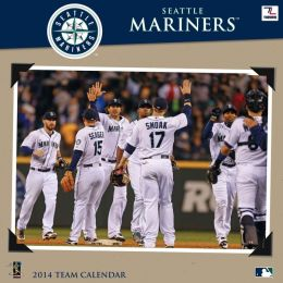 2014 Seattle Mariners 12X12 Wall Calendar