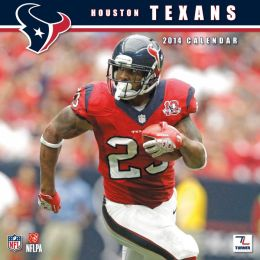 2014 Houston Texans 12X12 Wall Calendar