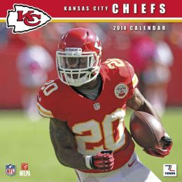 2014 Kansas City Chiefs 12X12 Wall Calendar