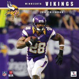 2014 Minnesota Vikings 12X12 Wall Calendar