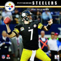 2014 Pittsburgh Steelers 12X12 Wall Calendar